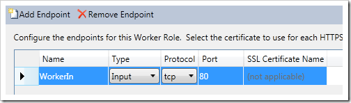 adding an endpoint - screenshot