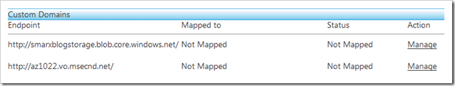 step 2 - domain mappings